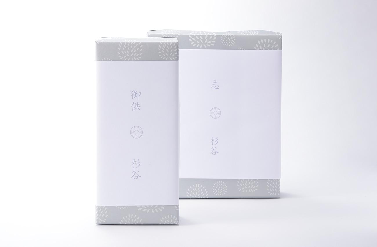 法事用の包装紙と熨斗